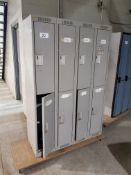 Double Tier Lockers 4 Wide