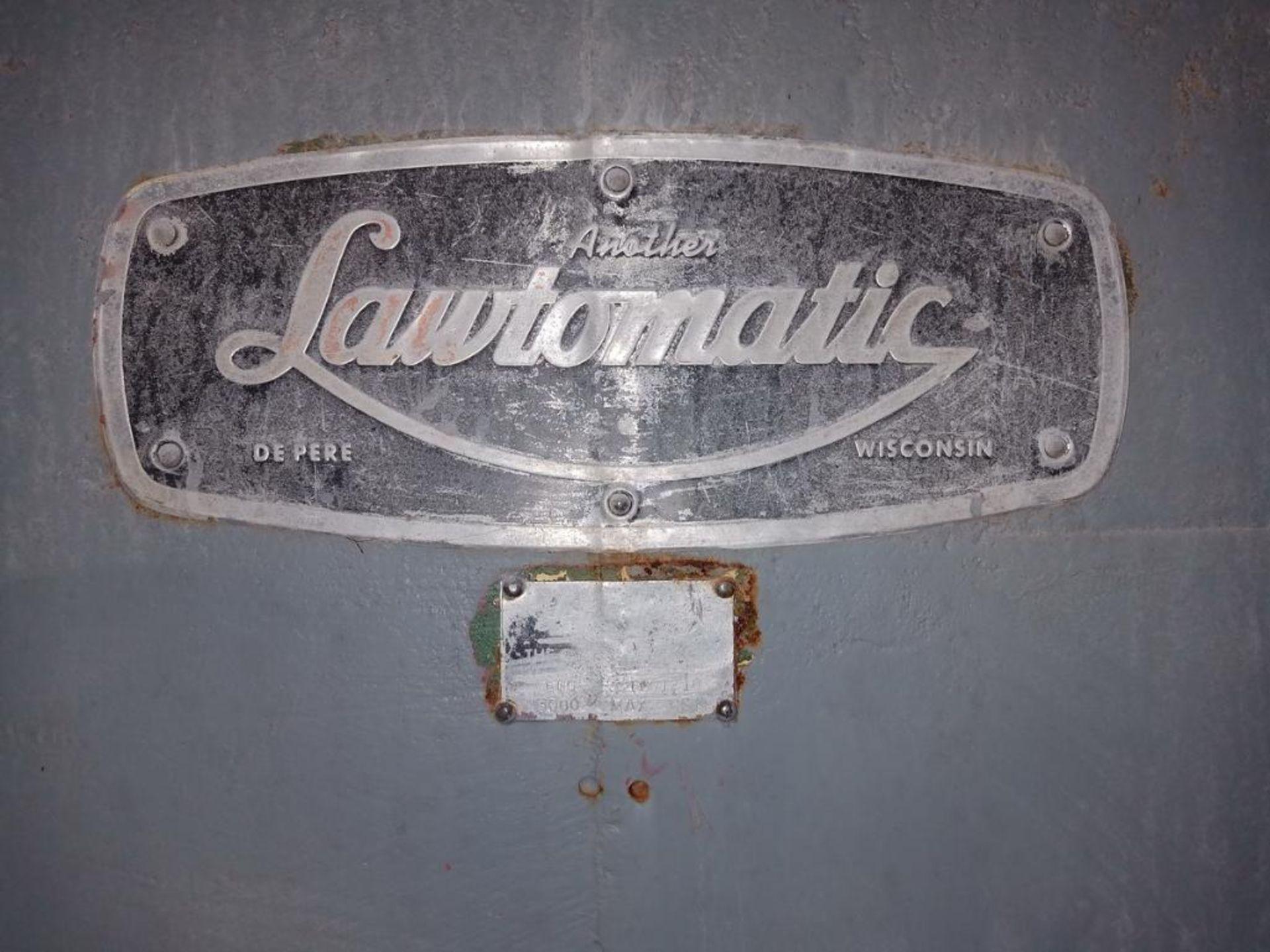 Lot 36 - Lawson 600T 4-Post compression molding Press