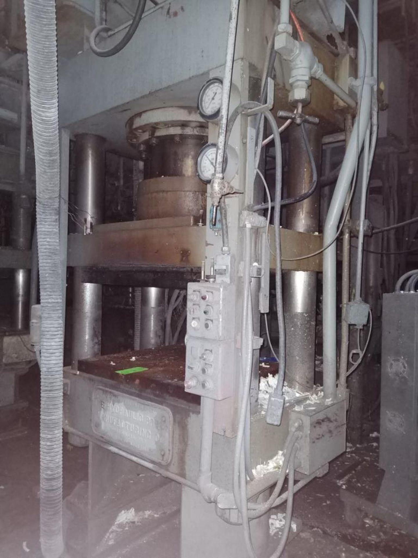 HPM 400T 4-Post Compression Molding Press - Image 6 of 7