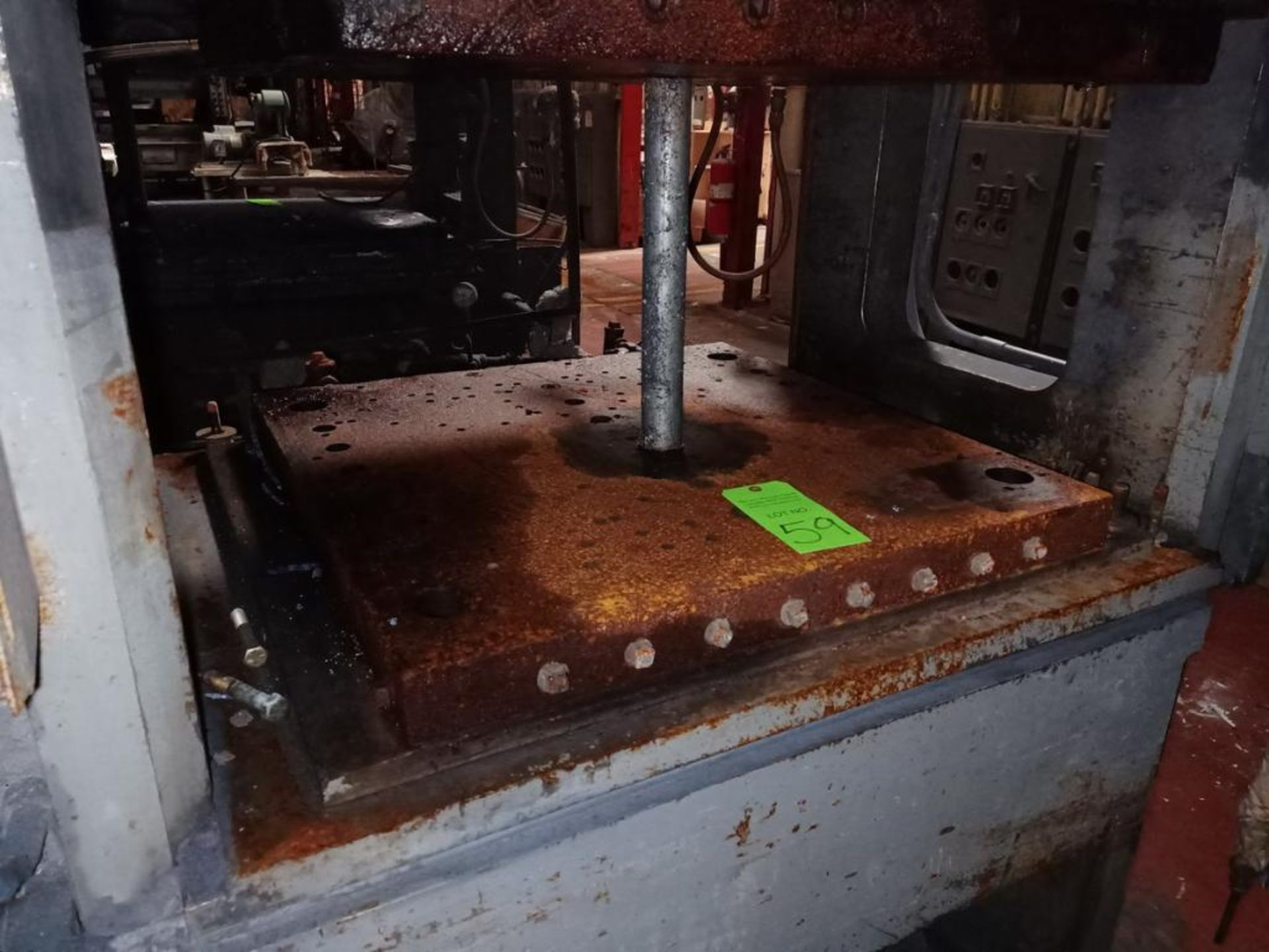 French 400T 4-Post Compression Molding Press - Image 3 of 5