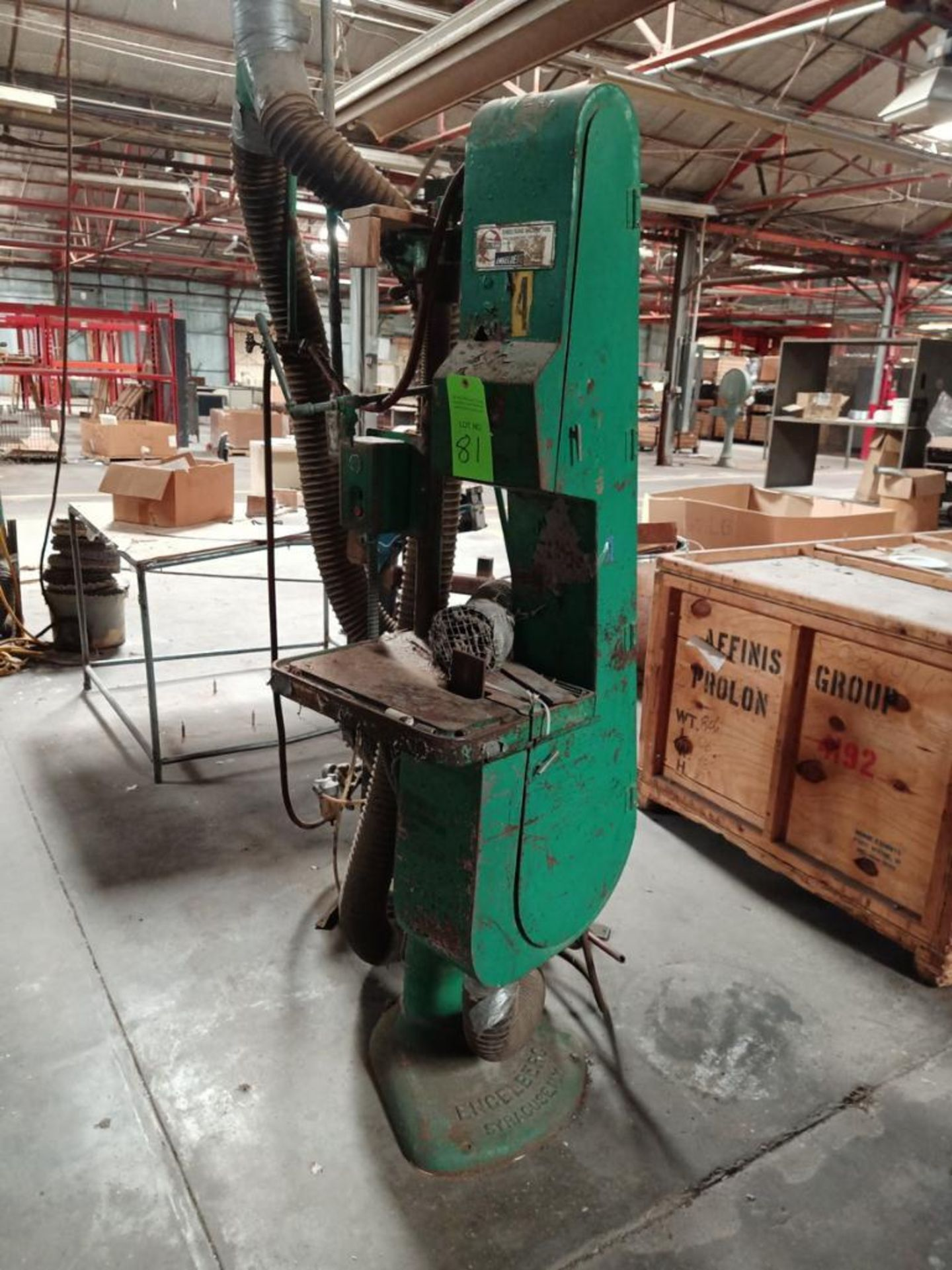 Lot 81 - Sunstrand Machine Co. Belt Sander