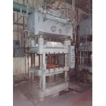 Lawson 400T 4-Post compression molding Press