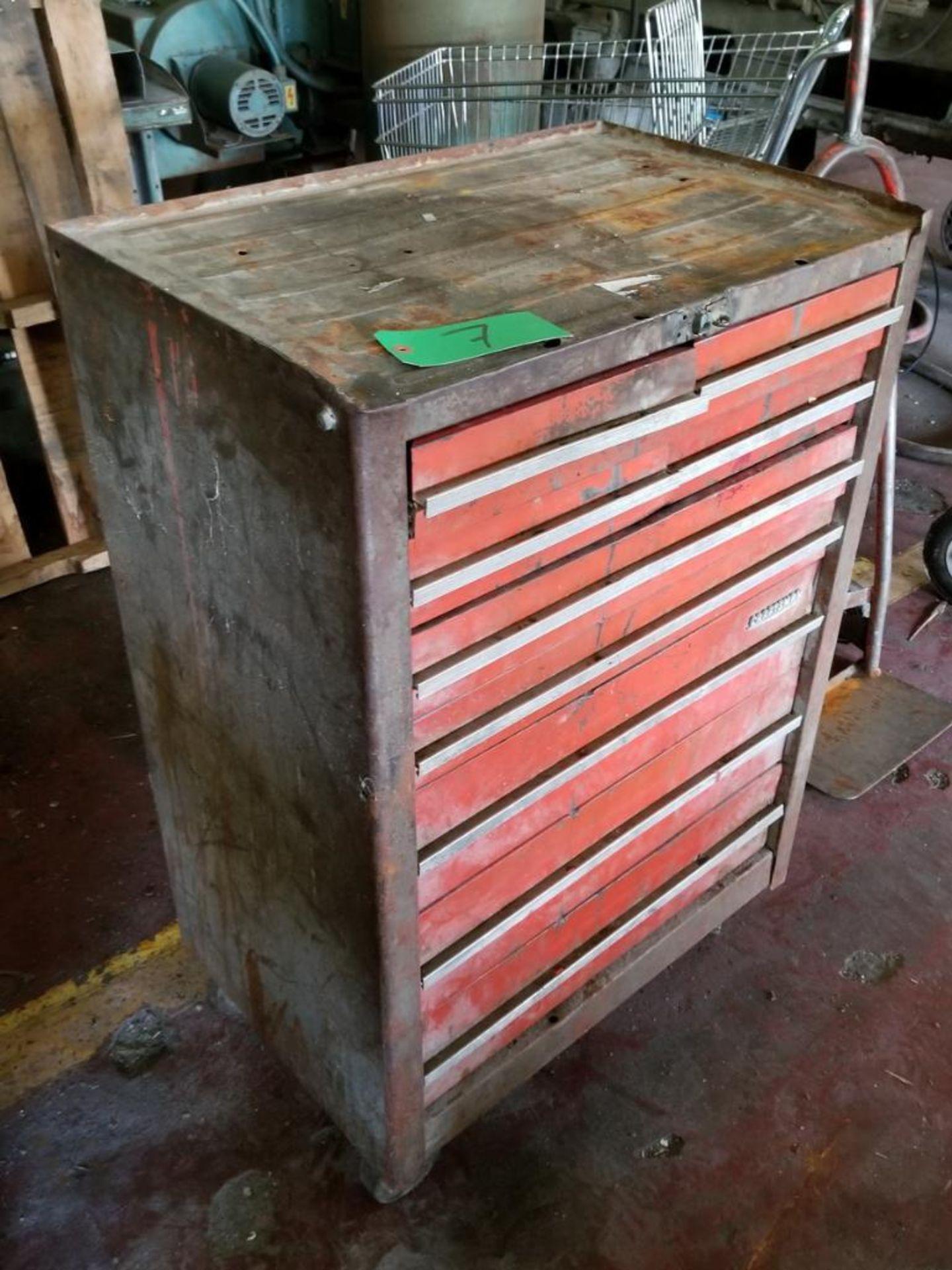 Lot 7 - Craftsman 9-Drawer Toolbox
