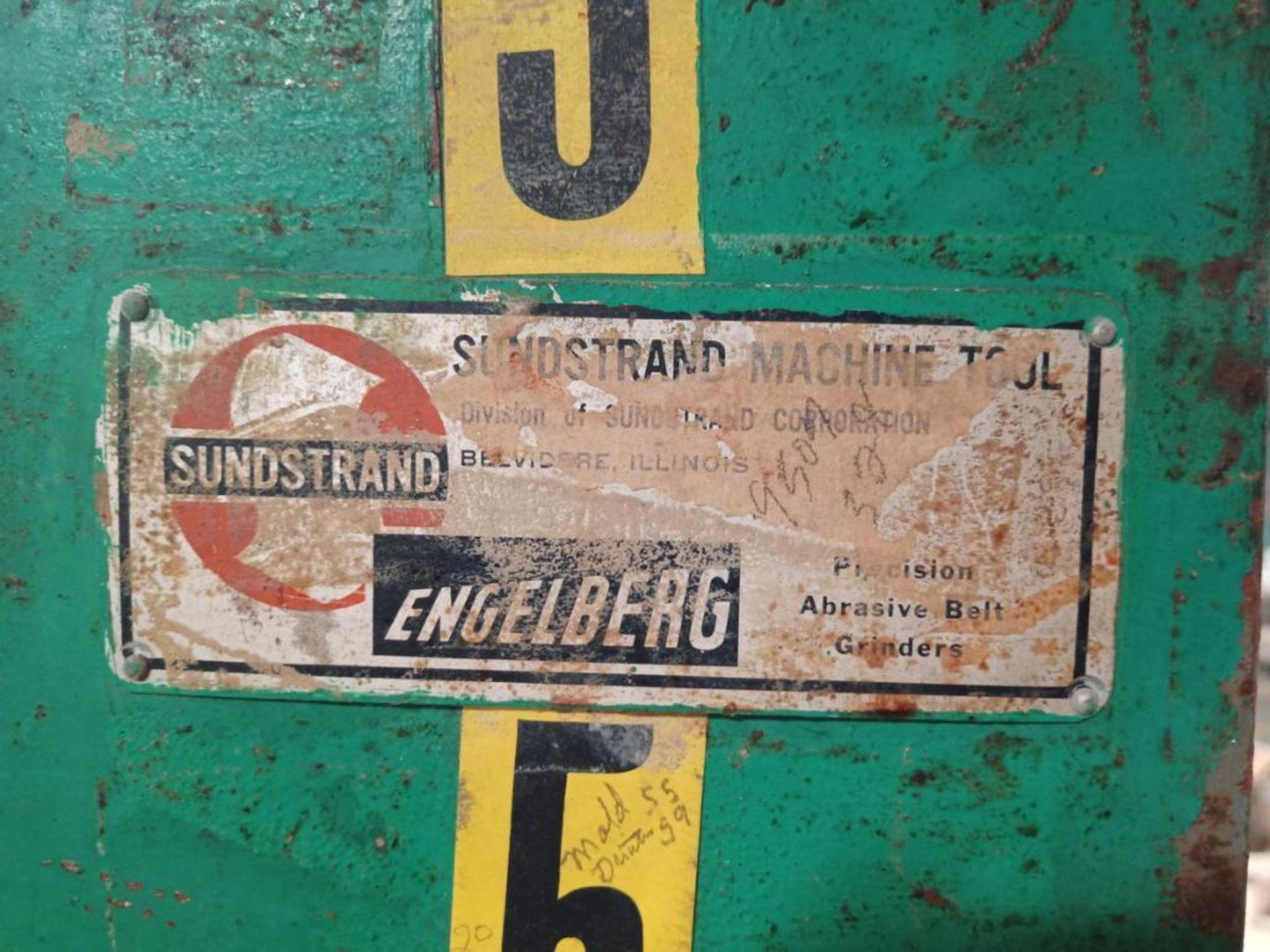 Lot 80 - Sunstrand Machine Co. Belt Sander