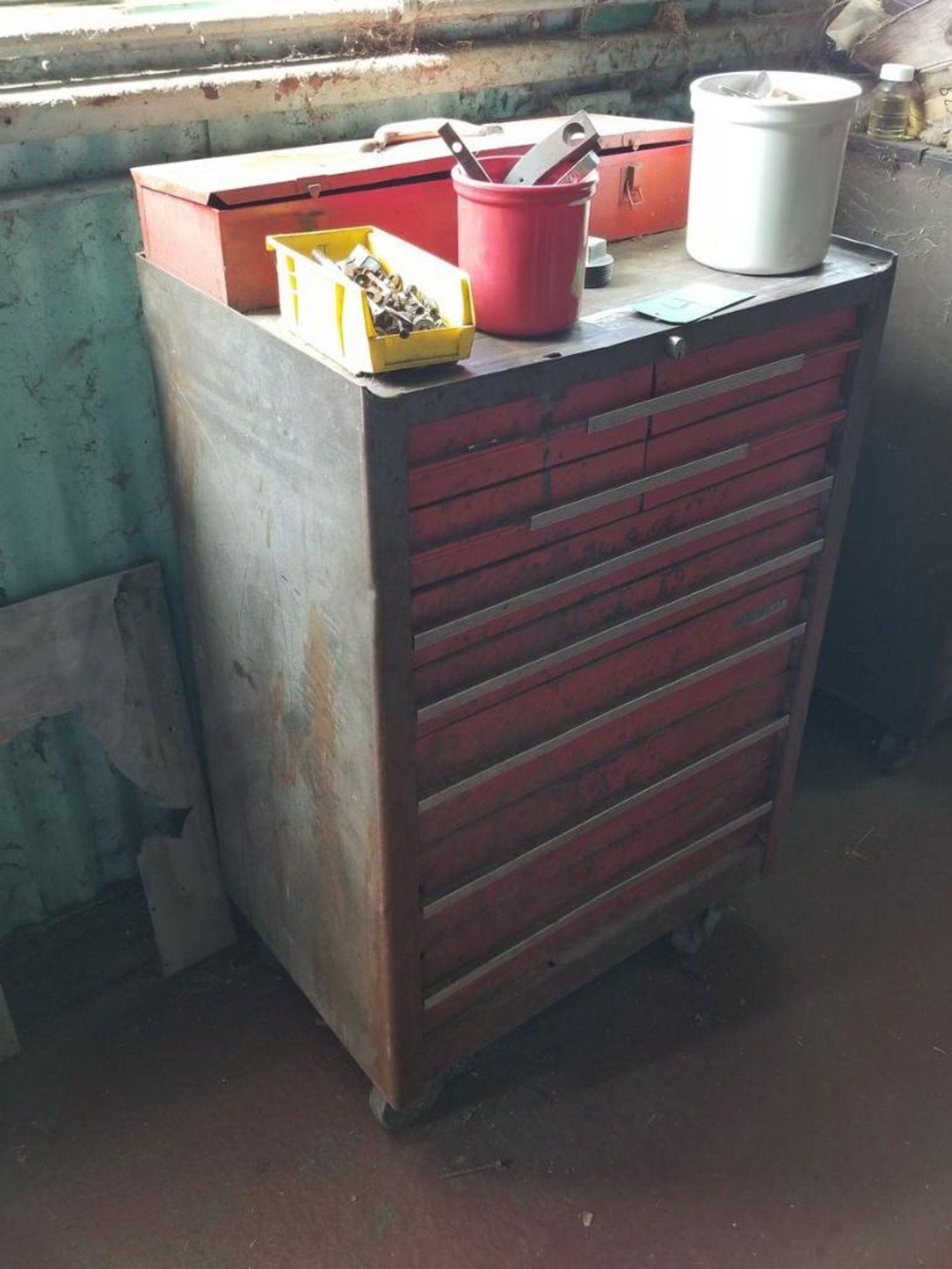 Lot 4 - Craftsman 9-Drawer Toolbox