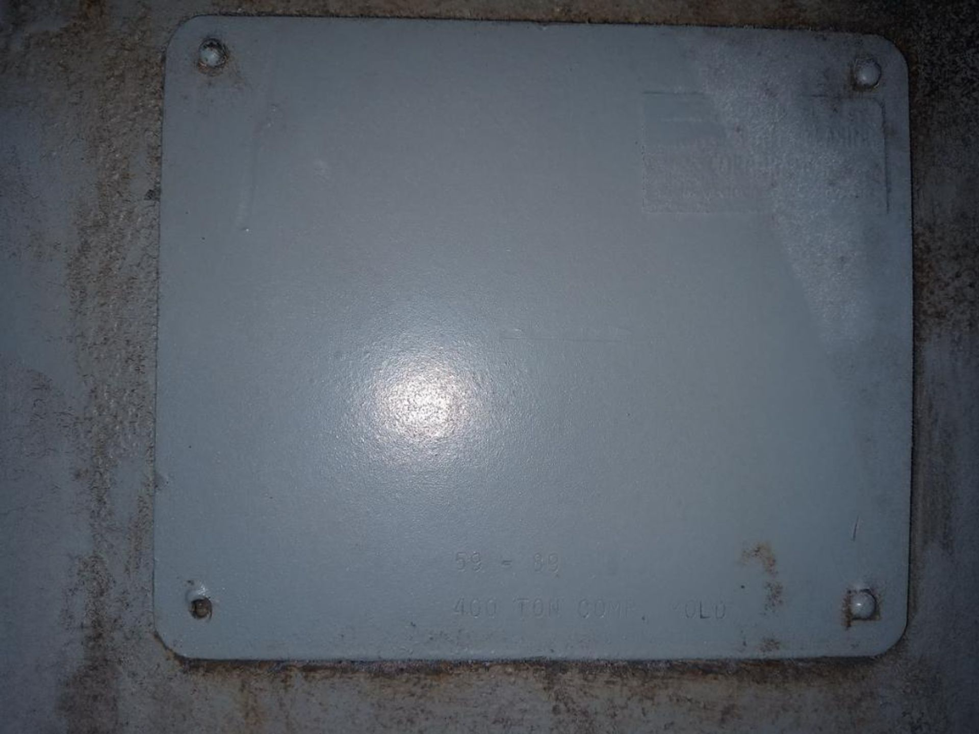 HPM 400T 4-Post Compression Molding Press - Image 6 of 6