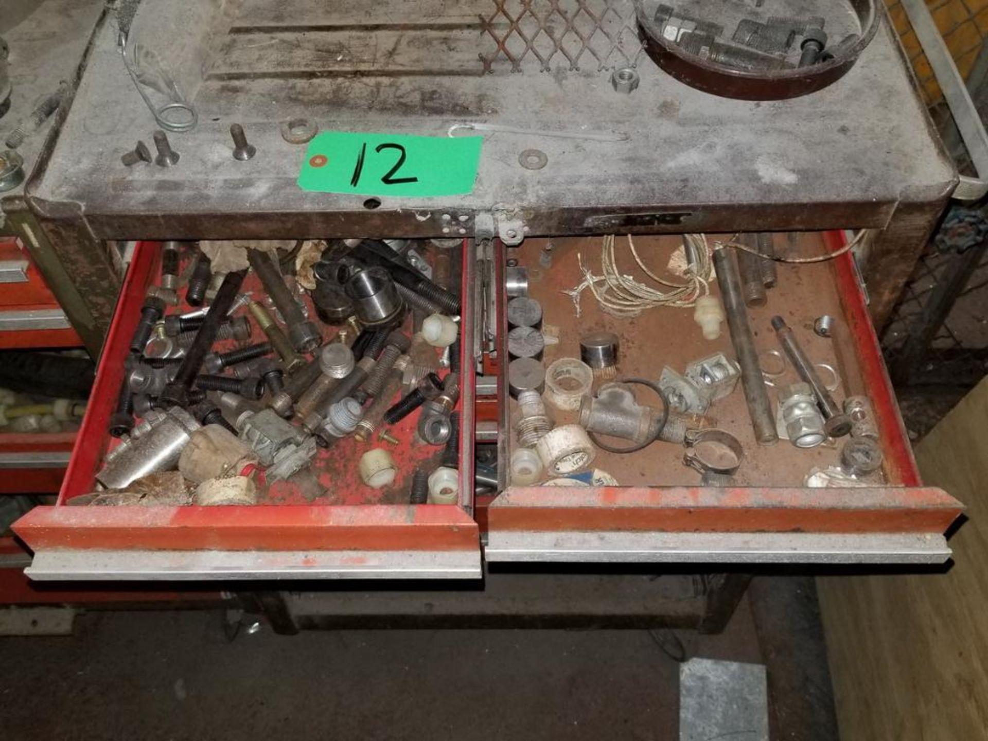 Lot 12 - 7-Drawer Toolbox