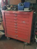 Napa 8-Drawer Toolbox