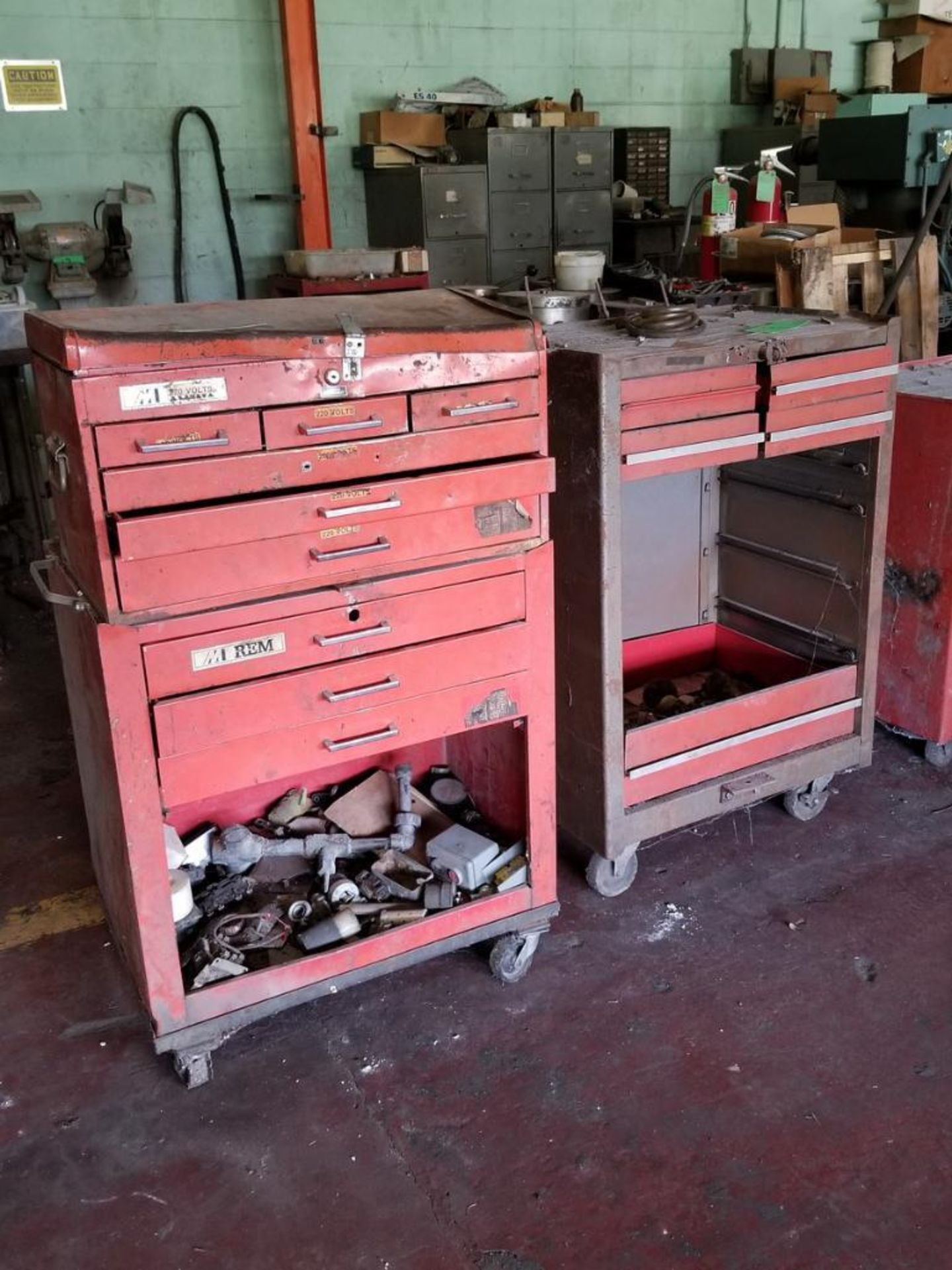 Lot 9 - (2) Assorted Toolboxes