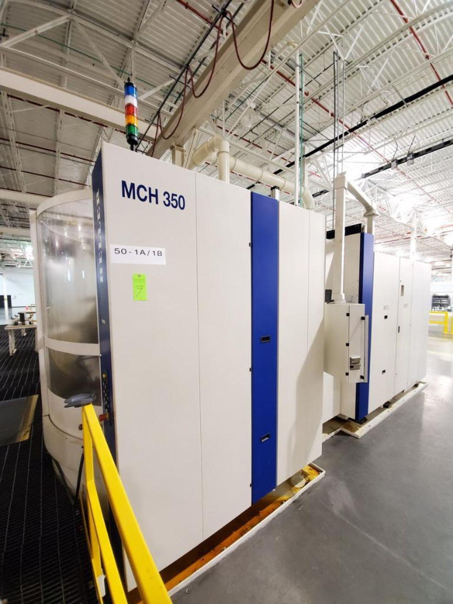 Lot 7 - 2011 Heller MCH 350 PC, Horizontal Machining Center