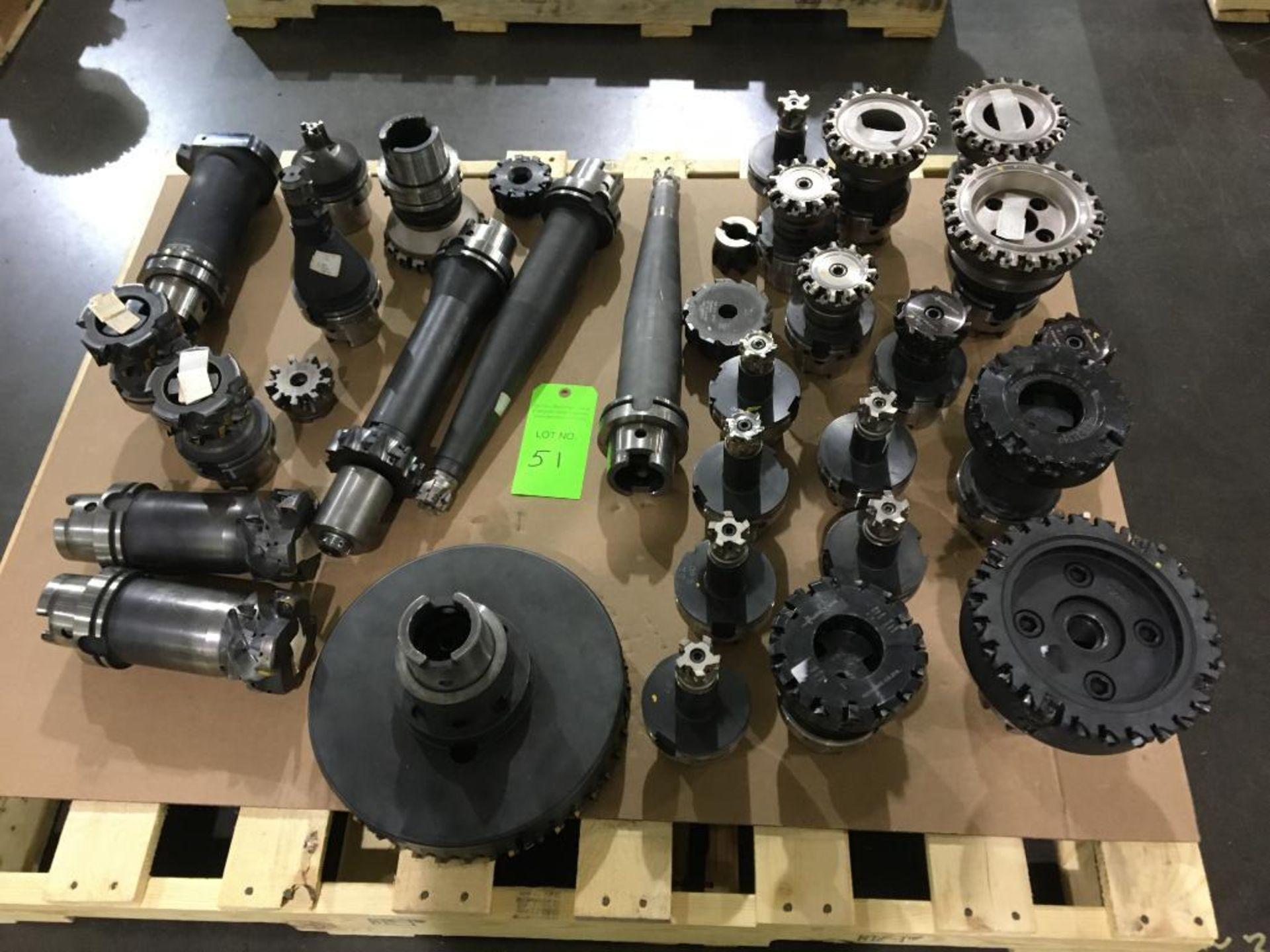 Lot 51 - Lot of Durable Cutting Tools