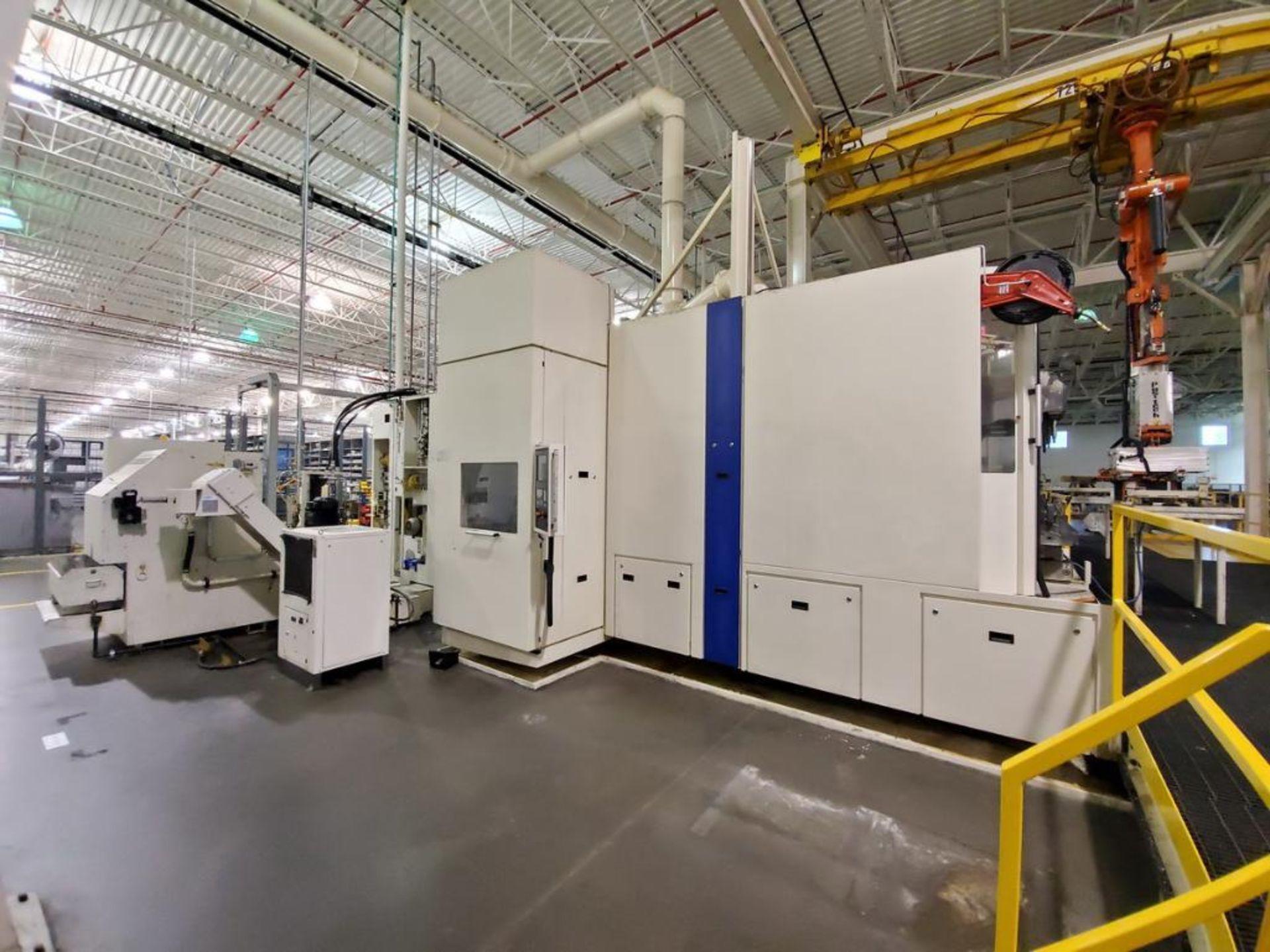 Lot 3 - 2011 Heller MCH 400 PC, Horizontal Machining Center