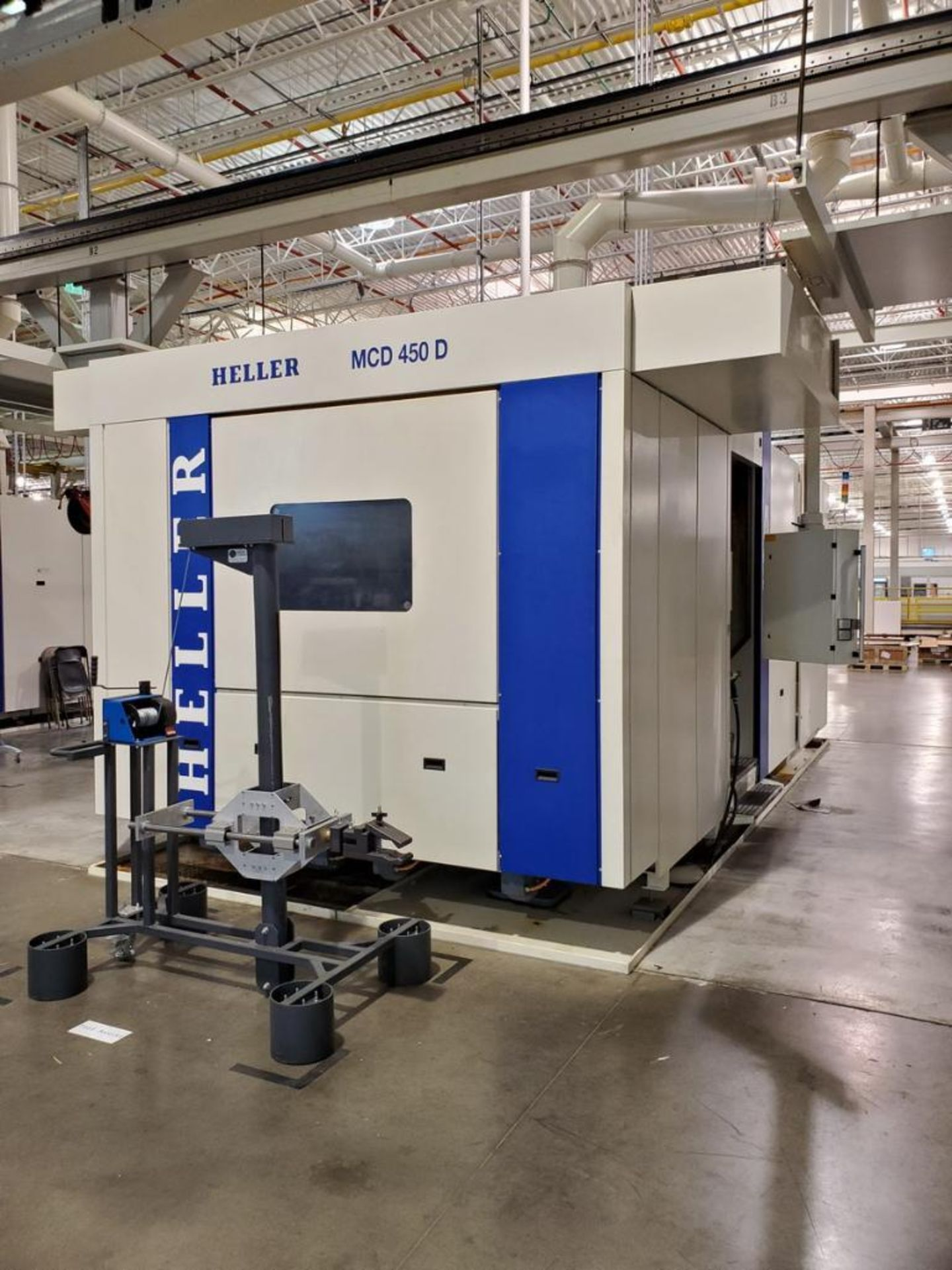 Lot 11 - 2011 Heller MCD 450 D, Horizontal Machining Center