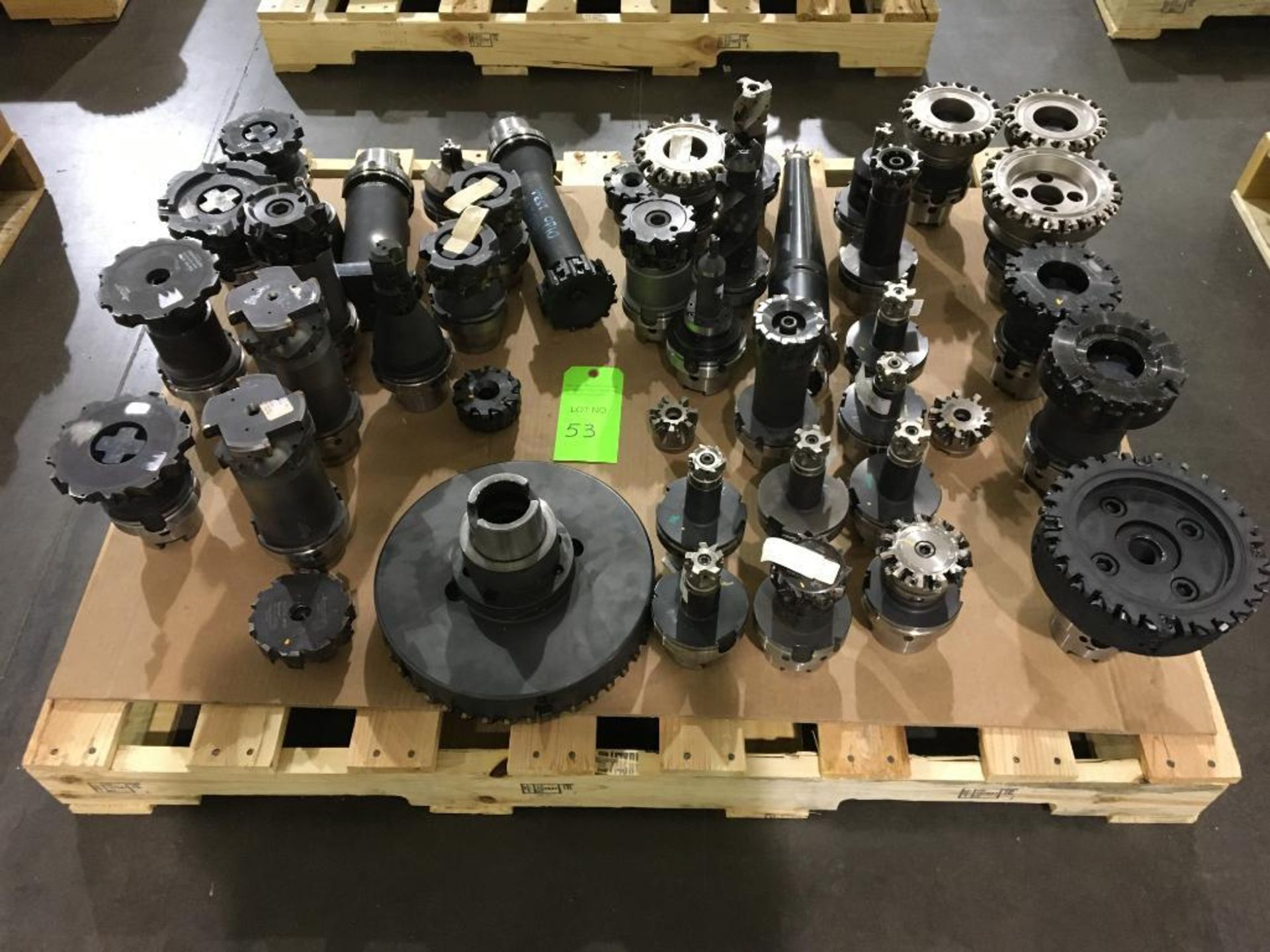 Lot 53 - Lot of Durable Cutting Tools