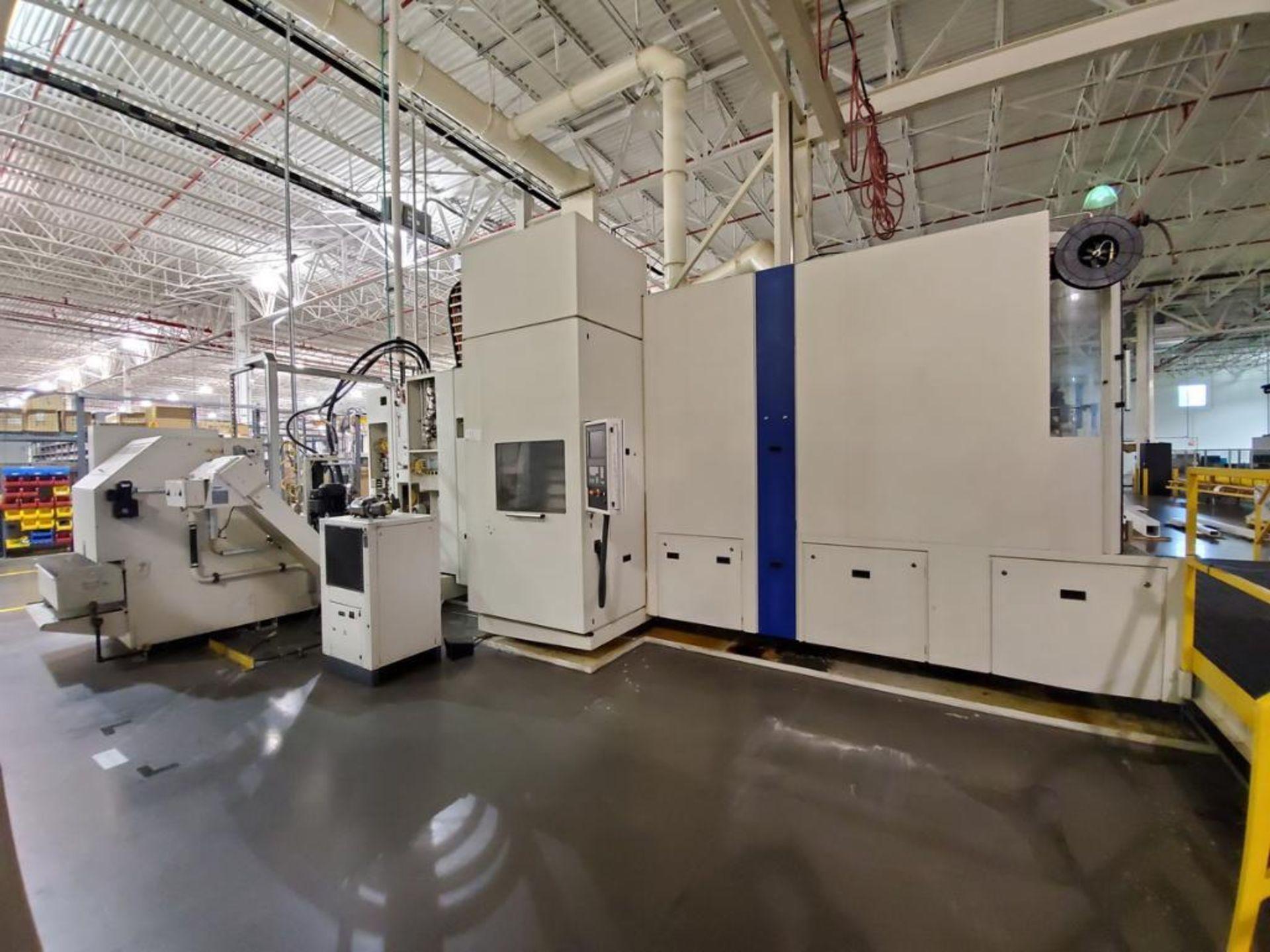 Lot 2 - 2011 Heller MCH 400 PC, Horizontal Machining Center
