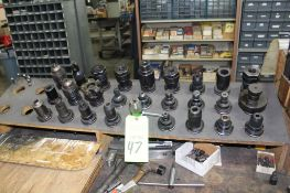 CAT 40 Toolholders, Lot of Assorted