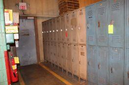 Set of 13 Lockers