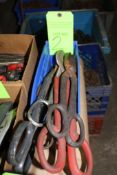 Lot of Assorted Snips/Shears