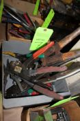 Lot of Wire Strippers and Benders