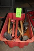 Lot of Mallets and Hammers
