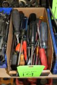 Lot of Assorted Screw Drivers