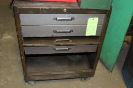 Tool Chest on wheels includes contents