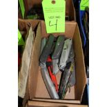 Lot of Box Cutters