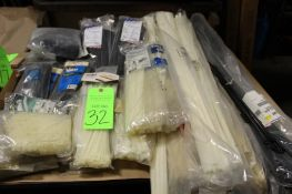 Large Lot of Assorted Size Zip Ties