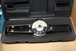 Dial Torque Wrench Model 75025