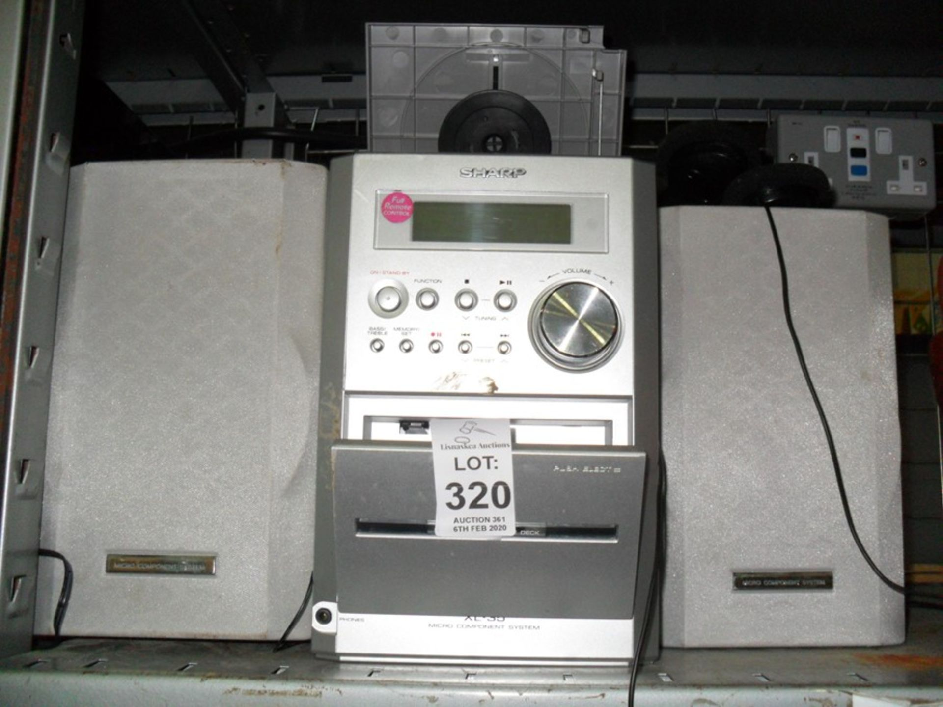Lot 320 - SHARP STEREO
