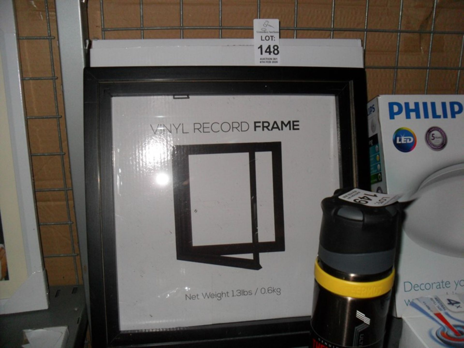 Lot 148 - KAIU VINYL RECORD FRAME (EX-SHOP DISPLAY)