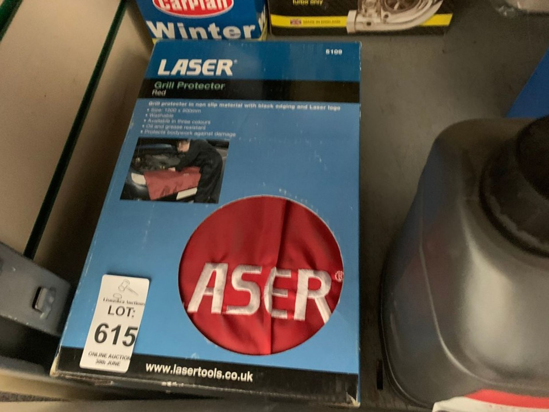 Lot 615 - LASER CAR GRILL PROTECTOR