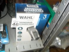 WAHL GROOMSMAN RECHARGEABLE SHAVER (WORKING)