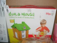 BUILD HOUSE KIDS BUILDING TOY