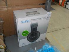 BOXED SAMSON SR850 PROFESSIONAL HEADPHONES (WORKING)