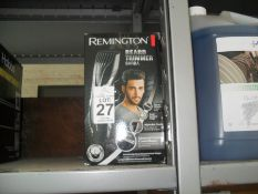 BOXED REMINGTON BEARD TRIMMER (WORKING)