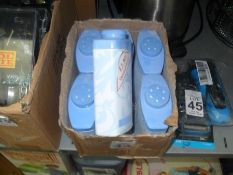 BOX OF 6 CANS OF TALC