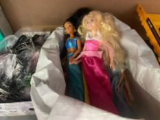 BAG OF BARBIE TYPE DOLLS