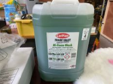 25L CAN OF CARPLAN TRADE VALET FOAM WASH