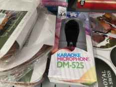 BOXED KARAOKE MICROPHONE (NEW)