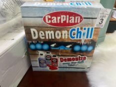BOX OF CARPLAN CAR PRODUCTS