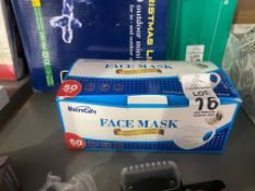 BOX OF 50 MACROCARE FACE MASKS