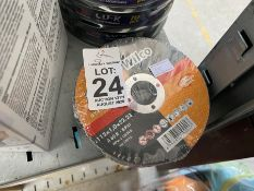 "PACK OF 25 X 4.5"" CUTTING DISCS"