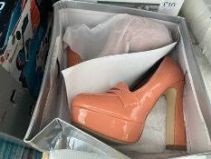 LOT OF 2 PAIRS OF LADIES SHOES