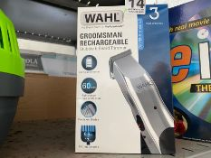 WAHL GROOMSMAN RECHARGEABLE TRIMMER (WORKING)