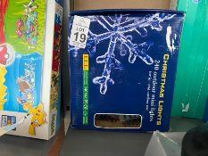 BOX OF CHRISTMAS LIGHTS (WORKING)