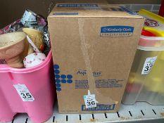 3 NEW BOXED TOILET TISSUE DISPENSERS