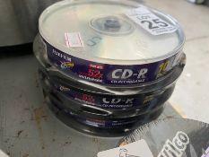 LOT OF 30 FUJIFILM DISCS