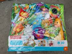 FISHER PRICE RAINFOREST 3 WAYS TO PLAY GYM IN PACKING