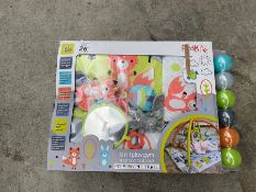 RED KITE BOXED 3 IN 1 PLAY GYM